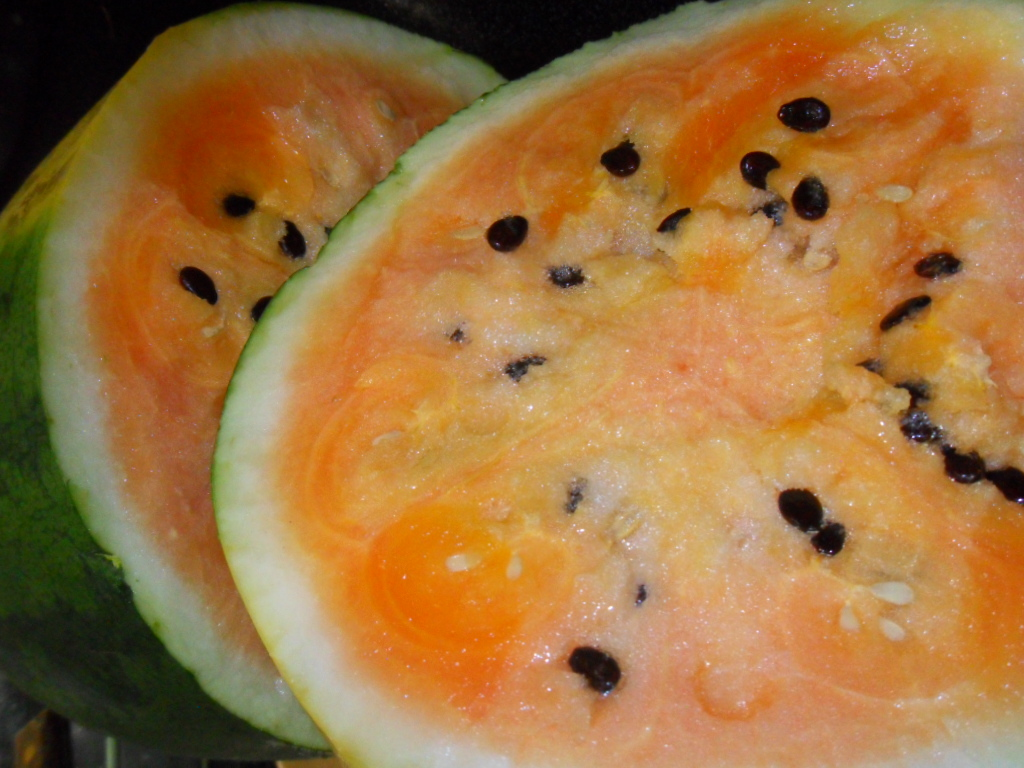 Citrullus Lanatus (Orange Watermelon) Seeds