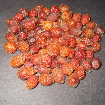 Rosa Canina (Rosehips) Whole Fruits