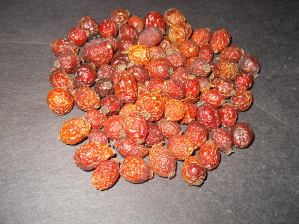 Rosa Canina (Rosehips) Whole Fruits