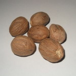 Myristica Fragans (Nutmeg) Organic Whole Nuts